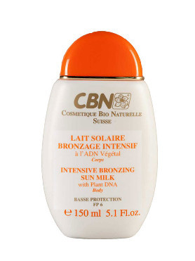 CBN Lait Solaire Bronzage Intensif small image