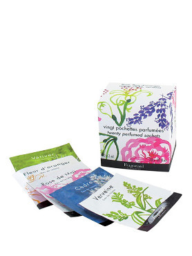 Fragonard Set of 20 Perfumed Sachets EDT small image