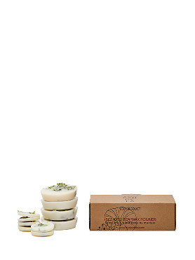 Munio Heather Scented Soy Wax Rounds small image