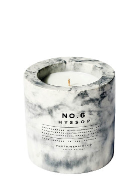 Photo Genics Hyssop Concrete Candle small image